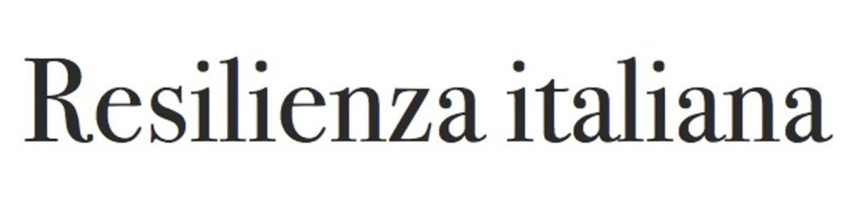Sito ufficiale del Movimento di Resilienza italiana